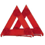 Safety Triangles Red